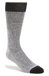 Men's Hook Albert 'Gray' Circuit Socks