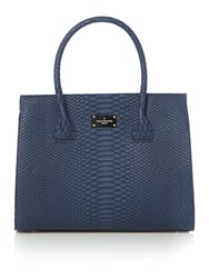 Paul's Boutique The Westwell Collection Black Winged Tote Blue