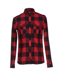 Eleven Paris Shirts Shirts Men Red
