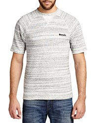 Bench Likely Striped Tee Grey
