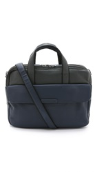Marc By Marc Jacobs Classic Leather Colorblock Robbie Briefcase Washed Ink