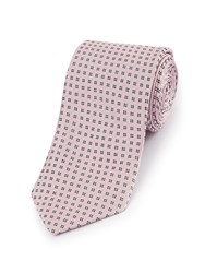 Skopes Fancy Polyester Tie Pink