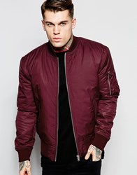 Hype Ma1 Bomber Jacket Red