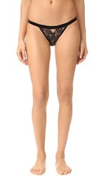 For Love And Lemons Emerie Panties Black