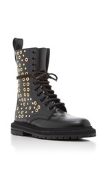 Burberry West Marsh Ankle Boot Olive