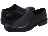 Dockers Society Black Polished Leather Men's Slip On Shoes