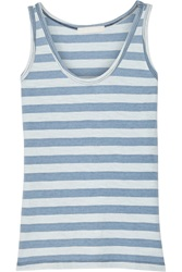 Kain Label Dulce Striped Cotton Tank Blue