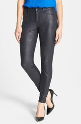 Women's Cj By Cookie Johnson 'Joy' Foil Python Print Stretch Skinny Jeans