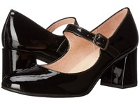 French Sole Tycoon Black Patent Women's Shoes