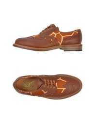 Mark Mcnairy Lace Up Shoes Brown