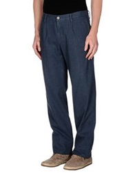 Massimo Alba Casual Pants Slate Blue