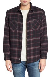 Men's Quiksilver 'Sane Rock' Plaid Flannel Shirt Jacket