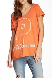 Rebel Yell P Is For Perfection Pocket Tunic Orange
