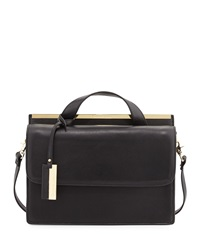 Christian Lacroix Melitea Flap Satchel Black