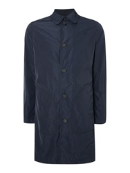 G Star James Trench Casual Showerproof Button Mac Navy