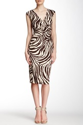 Weston Wear Ally Animal Print Dress Multi