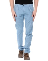 One Seven Two Casual Pants Blue