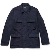 Engineered Garments Garment Cotton Field Jacket Navy