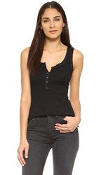 Free People Time Out Tank Black