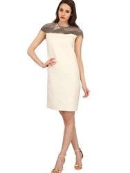 Bally Wool Silk Gauze And Python Dress