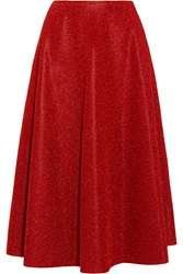Golden Goose Derra Lame Midi Skirt