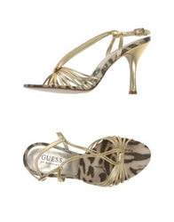 Guess By Marciano Sandals Gold