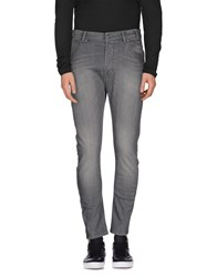 Jcolor Denim Denim Trousers Men Grey