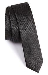 The Kooples Men's Jacquard Silk Tie Grey