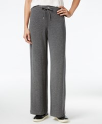 Styleandco. Style Co. Petite Drawstring Active Pants Only At Macy's Steel Grey Hthr