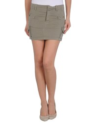 .. Merci Skirts Mini Skirts Women Military Green