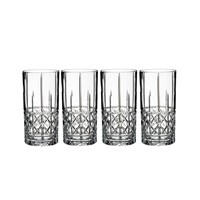 Waterford Marquis Brady Highball Glasses Set Of 4