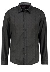 Tom Tailor Shirt Almost Black Anthracite