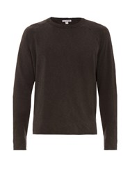 James Perse Raglan Sleeves Cotton Sweatshirt