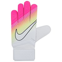 Nike Match Goalkeeper Football Gloves White Pink