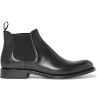 O'keeffe Algy Leather Chelsea Boots Black