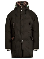 Raf Simons Detroit Down Parka Black Multi