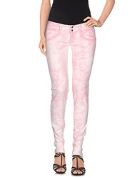 Met Denim Denim Trousers Women Light Pink
