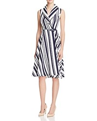 Gracia Striped Shirtdress Compare At 97 Navy White