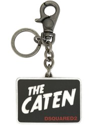 Dsquared2 The Caten Key Ring Black