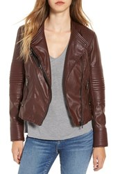 Blank Nyc Women's Blanknyc Quilted Faux Leather Moto Jacket