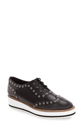 Shellys Women's London 'Winchester' Platform Wedge Oxford