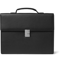 Montblanc Meisterstuck Leather Briefcase Black