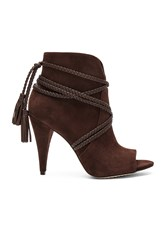 Vince Camuto Astan Booties Chocolate Brown