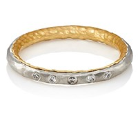 Malcolm Betts Women's Thin Band Ring Silver
