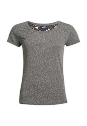 Superdry Super Sewn Rugged Lace T Shirt Grey