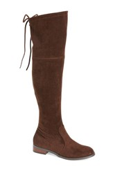 Very Volatile Women's 'Briar' Over The Knee Boot Brown
