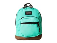 Jansport Right Pouch Seafoam Green Backpack Bags Blue