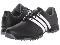Adidas Pure Trx Core Black Ftwr White Dark Silver Metallic Men's Golf Shoes