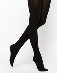 Asos 120 Denier Tights With Bum Tum Thigh Support Black