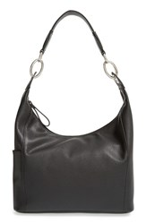 Longchamp 'Small Le Foulonne' Hobo Bag Black